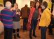 Mitwirkende und Besucher im Gespräch