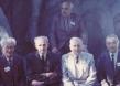 Treffen nach 50 Jahren in der Kadettenschule in Komorowo (1983) (zweiter von rechts)