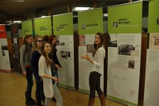 Ausstellung am JEG Dachau