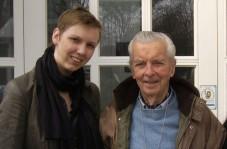 Ylva Sluiter und Jaap van Mesdag in Dachau, 2012