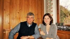 Thomas Held und Projekteilnehmerin Nina Augustin