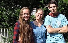 Agco Halmen, Sabine Gerhardus und Maurycy Przyrowski