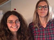 Sandra Usselmann und Lera Plotnyk