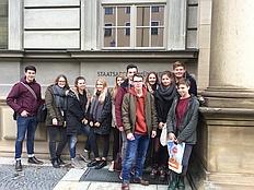 Grafinger W-Seminar: Besuch im Staatsarchiv