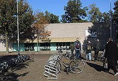 Eingang der Gedenkstätte Kamp Vught