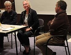 Von links nach rechts: Jaap Mesdag, Sonja Holtz-Arendse, Klaus Schultz