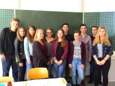 Die Teilnehmerinnen und Teilnehmer des Grafinger W-Seminars